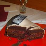 Čokoládovo-višňová